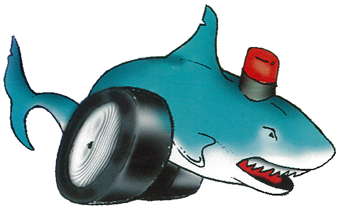 speeding ticket shark